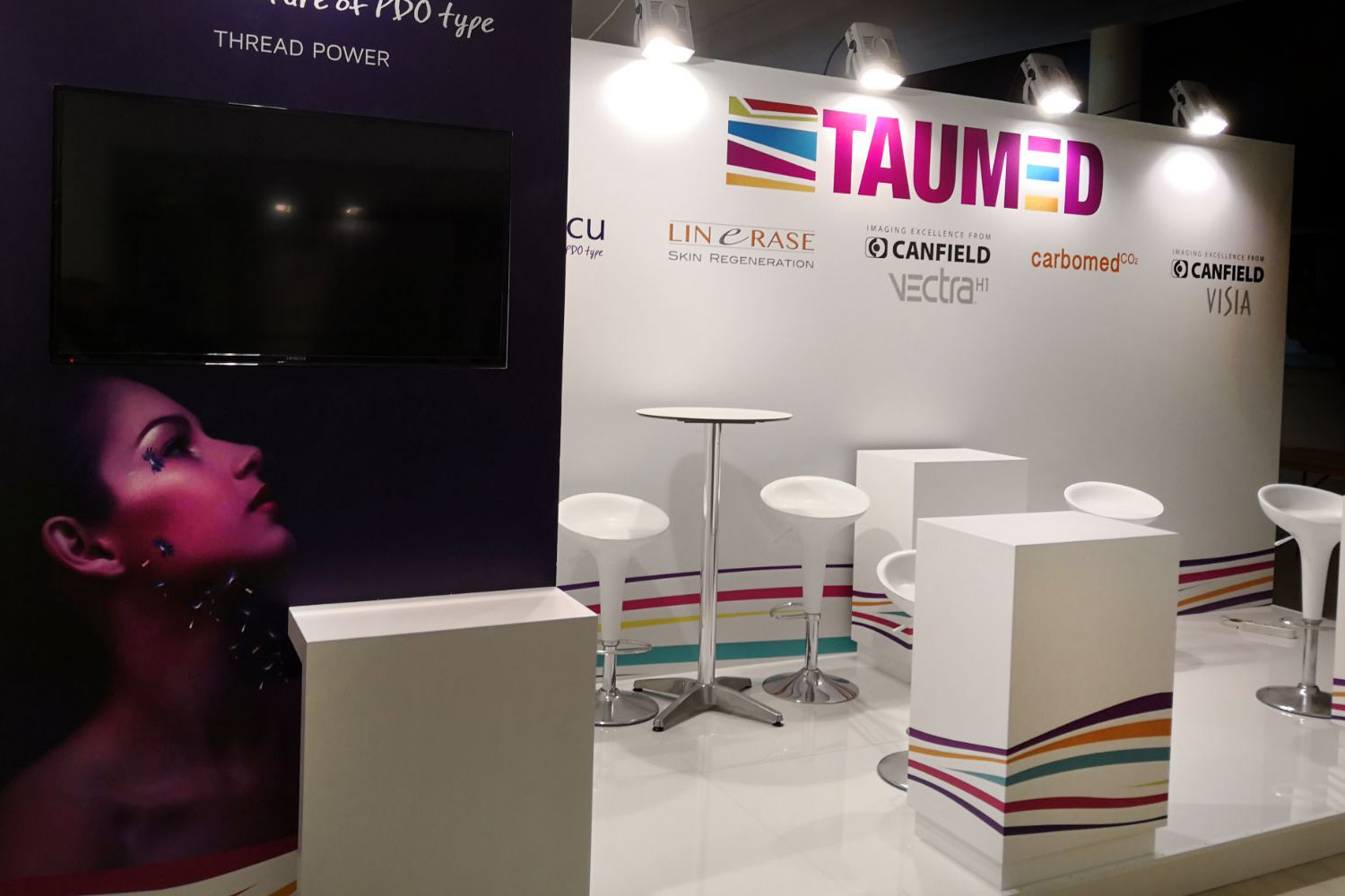 set-up events designs stands fairs exhibitions